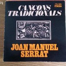 Discos de vinilo: ** JOAN MANUEL SERRAT - EL BALL DE LA CIVADA +3 - EP AÑO 1972 - PROMOCIÓN - LEER DESCRIPCIÓN. Lote 253002030