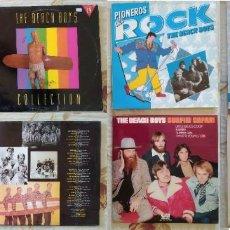 Discos de vinilo: THE BEACH BOYS - 4 DISCOS DE VINILO LPS. Lote 253018010
