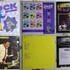 Discos de vinilo: FATS DOMINO - 7 DISCOS DE VINILO LPS. Lote 253018380
