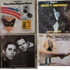 Discos de vinilo: SIMON & GARFUNKEL - 9 DISCOS DE VINILO LPS. Lote 253019600