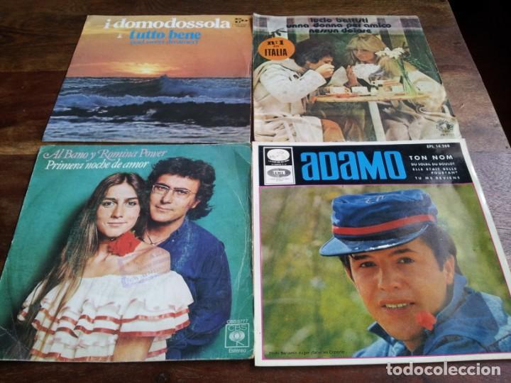 Discos de vinilo: lote singles de musica italiana, Collage,Drupi,Matia bazar, Lucio Battisti - 8 singles originales - Foto 3 - 253021945