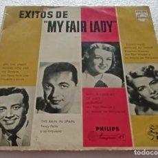 Disques de vinyle: EP EXITOS DE MY FAIR LADY - ON THE STREET WHERE YOU LIVE Y OTROS TEMAS -PEDIDOS MINIMO 7€. Lote 253025845