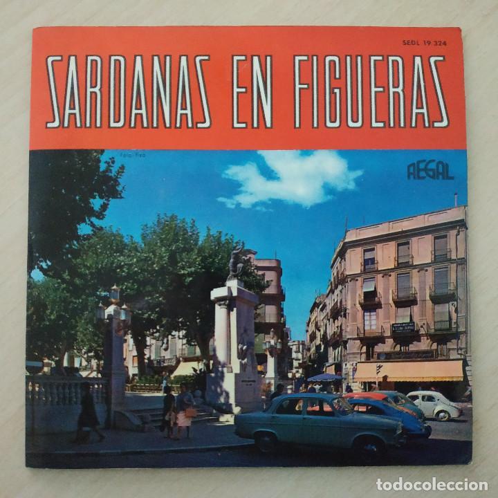 COBLA GIRONA - SARDANAS EN FIGUERAS - EP REGAL 1963 PORTADA ABIERTA CON LIBRETO INTERIOR (Música - Discos de Vinilo - EPs - Étnicas y Músicas del Mundo)