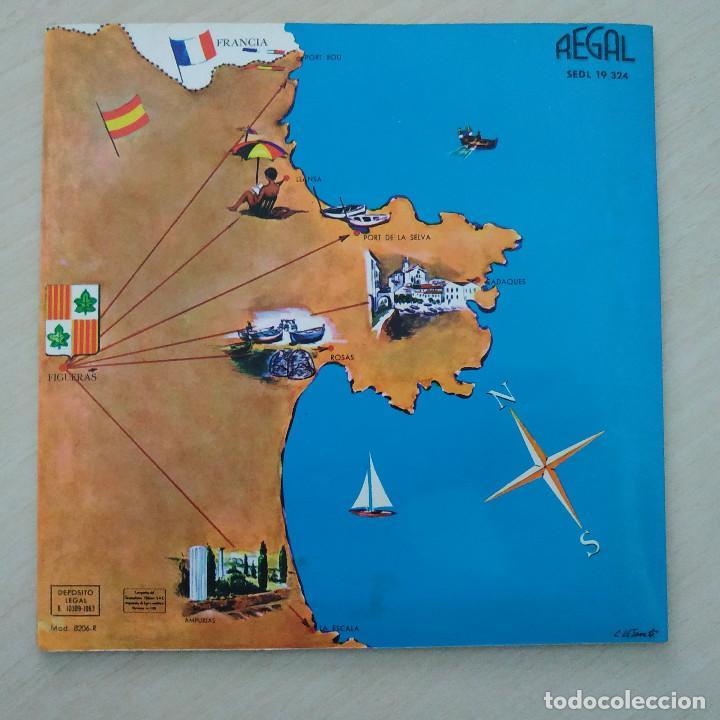 Discos de vinilo: COBLA GIRONA - SARDANAS EN FIGUERAS - EP REGAL 1963 PORTADA ABIERTA CON LIBRETO INTERIOR - Foto 6 - 253026535