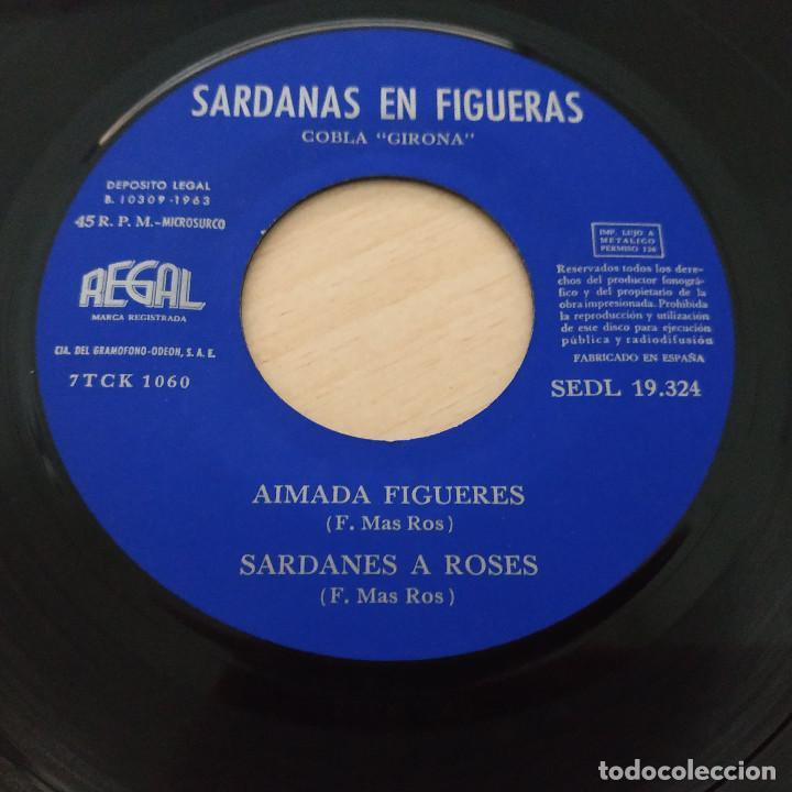 Discos de vinilo: COBLA GIRONA - SARDANAS EN FIGUERAS - EP REGAL 1963 PORTADA ABIERTA CON LIBRETO INTERIOR - Foto 7 - 253026535