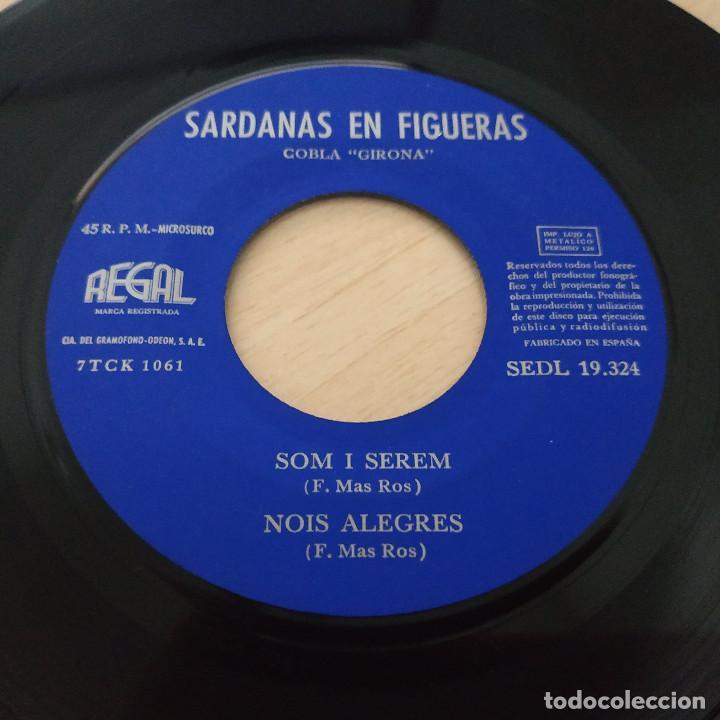 Discos de vinilo: COBLA GIRONA - SARDANAS EN FIGUERAS - EP REGAL 1963 PORTADA ABIERTA CON LIBRETO INTERIOR - Foto 8 - 253026535