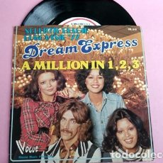 Dischi in vinile: DREAM EXPRESS - A MILLION IN 1,2,3./SPINNING TOP EUROVISION 1977. Lote 253026800