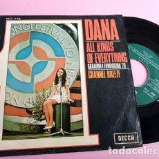 Discos de vinilo: DANA - ALL KINDS OF EVERYTHING - EUROVISIÓN 1970. Lote 253029285