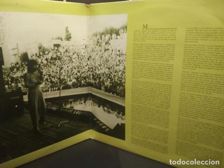 Discos de vinilo: 2 LP MARI TRINI GRANDES CANCIONES - DOBLE LP GATEFOLD HISPAVOX - 1983 PEPETO - Foto 2 - 253030035