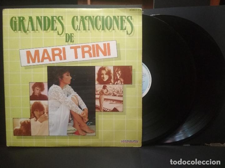 2 LP MARI TRINI GRANDES CANCIONES - DOBLE LP GATEFOLD HISPAVOX - 1983 PEPETO (Música - Discos - LP Vinilo - Solistas Españoles de los 70 a la actualidad)