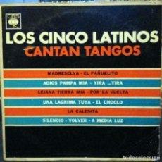 Discos de vinilo: LP ARGENTINO DE LOS CINCO LATINOS AÑO 1964. Lote 26805507