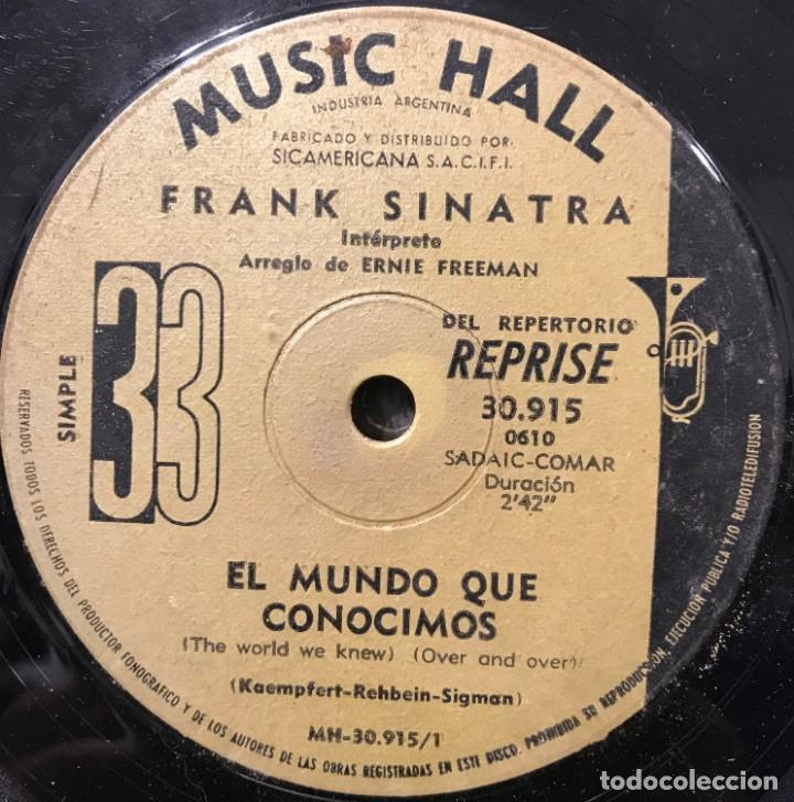 Discos de vinilo: Dos sencillos argentinos de Frank Sinatra - Foto 5 - 35834438