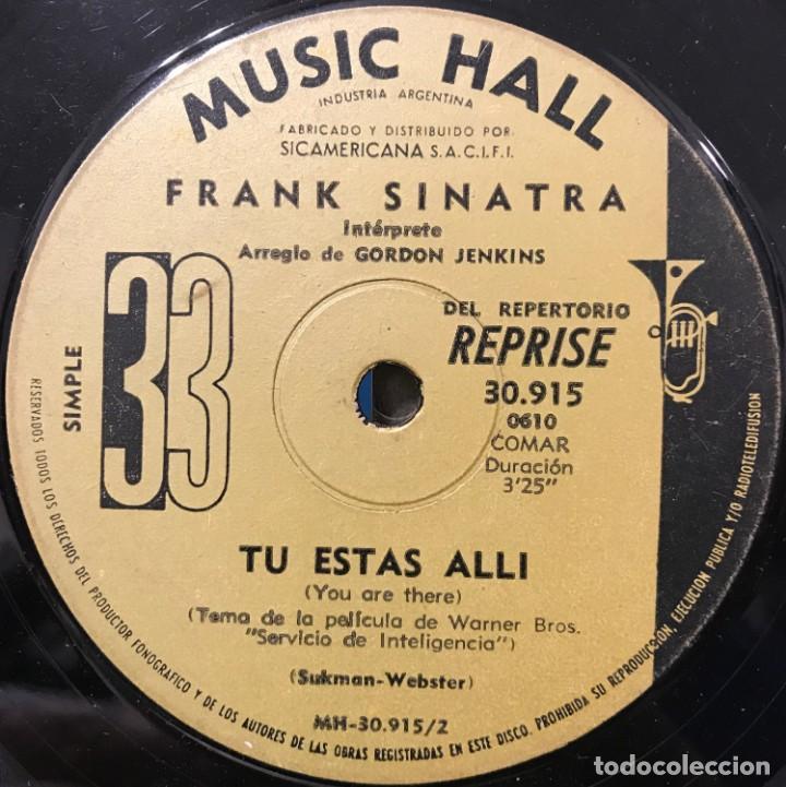 Discos de vinilo: Dos sencillos argentinos de Frank Sinatra - Foto 6 - 35834438
