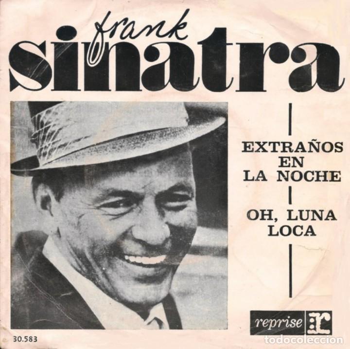 DOS SENCILLOS ARGENTINOS DE FRANK SINATRA (Música - Discos - Singles Vinilo - Cantautores Internacionales)