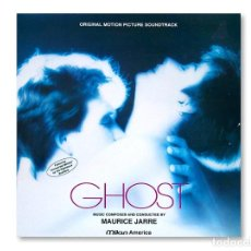 Discos de vinilo: VINILO - BSO ''GHOST'' - MAURICE JARRE - MILAN AMERICA - 1990. Lote 253099335