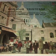 Disques de vinyle: EP BON JOUR TRISTESSE - LA CUEVA DE SAINT GERMAIN Y OTROS TEMAS - RCA VICTOR -PEDIDOS MINIMO 7€. Lote 253102500