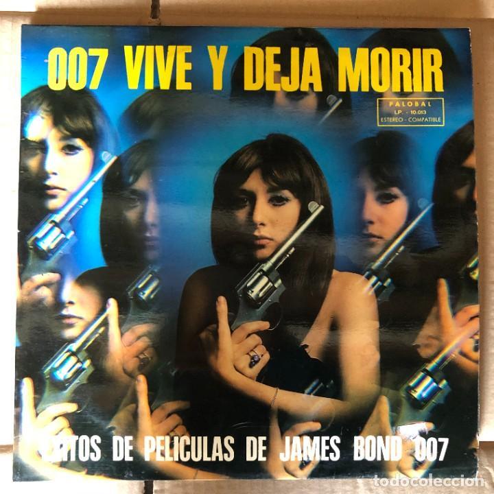 JAMES BOND 007 VIVE Y DEJA MORIR PAUL MCCARTNEY (Música - Discos - Singles Vinilo - Bandas Sonoras y Actores)