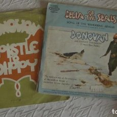 Discos de vinilo: DONOVAN . 2 SG. EPISTLE TO DIPPY / CELIA OF THE SEALS. Lote 253133960