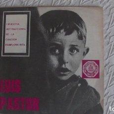 Discos de vinilo: LUIS PASTOR . EL NIÑO YUNTERO / HACE FALTA SABER (I MUESTRA PAMPLONA 73). SG. BARLOVENTO, 1973. Lote 253141310