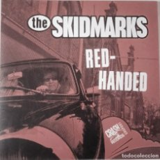 Discos de vinilo: THE SKIDMARKS...RED-HANDED. (CRASH RECORDS 2003) NETHERLAND.. Lote 253156945