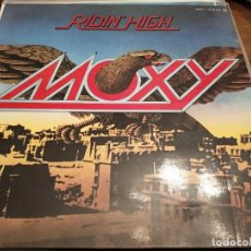 Discos de vinil: MOXY - RIDIN' HIGH (LP, ALBUM) SELLO:POLYDOR CAT. Nº: 2480 402.COMO NUEVO. NEAR MINT / NEAR MINT. Lote 253159325