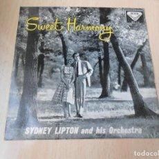 Discos de vinilo: SYDNEY LIPTON Y SU ORQUESTA - DULCE ARMONIA -, EP, COCKTAILS PARA DOS + 3, AÑO 1959. Lote 253164200