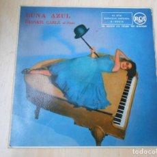 Discos de vinilo: FRANKIE CARLE AL PIANO, EP, LUNA AZUL ( BLUE MOON) + 3, AÑO 1958. Lote 253167805