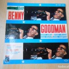 Discos de vinilo: BENNY GOODMAN Y SU ORQUESTA, EP, CHICAGO + 3, AÑO 1961. Lote 253170280