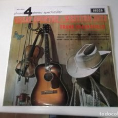 Discos de vinilo: FRANK CHACKSFIELD, HIS ORCHESTRA AND HIS CHORUS – GREAT COUNTRY & WESTERN HITS. Lote 253171230