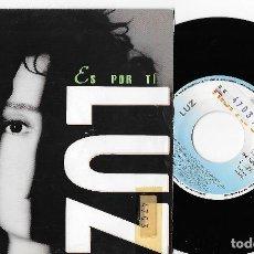 """Discos de vinilo: LUZ CASAL 7"""" SPAIN 45 ES POR TI 1992 SINGLE VINILO POP ROCK FEMENINO ESPAÑOL PROMOCIONAL HISPAVOX. Lote 253173375"""