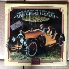 Discos de vinilo: THE GREAT GATSBY MÚSICA DE LA PELÍCULA - 1974. Lote 253173430