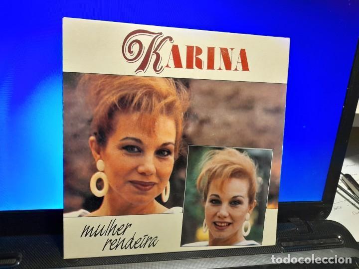 SG KARINA : MULHER RENDEIRA + LUNA DE MIEL (Música - Discos - Singles Vinilo - Solistas Españoles de los 70 a la actualidad)