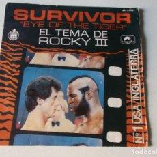 Discos de vinilo: SURVIVOR – EYE OF THE TIGER 1982, ED ESPAÑOLA. Lote 253224845