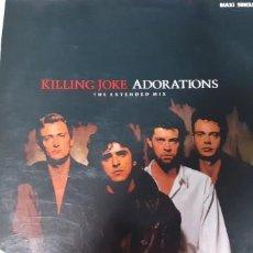 Dischi in vinile: KILLING JOKE ADORATIONS ....GOTICO 3 TEMAS. Lote 253255210