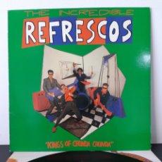 Discos de vinilo: THE INCREDIBLE REFRESCOS. KING OF CHUNDA CHUNDA. POLYDOR. 1990. ESPAÑA. FUNDA: VG++/ EX-. DISCO EX.. Lote 253289140