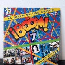 Discos de vinilo: ¡BOOM 7! EMI. 199. BOOM 7!. EMI. 1991. ESPAÑA. LOQUILLO, HEROES DEL SILENCIO..... Lote 253296325