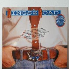 Discos de vinilo: RARO!!KING OF ROAD. SONY. SPAIN. 1991, MARK KNOPKLER, CASH, R. ORBISON, W. NELSON,,, EX- EN GENERAL!. Lote 253306295