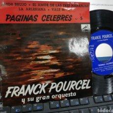 Discos de vinilo: FRANK POURCEL EP EL AMOR BRUJO + 3 ESPAÑA 1963. Lote 253310965