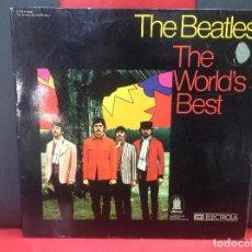 Discos de vinilo: THE BEATLES, THE WORLD'S BEST, EMI ELECTROLA. Lote 253311245
