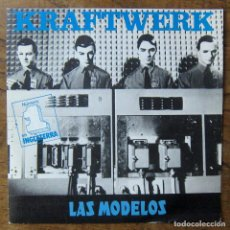 Disques de vinyle: KRAFTWERK - LAS MODELOS, THE MODEL / COMPUTER LOVE - 1982 - COMPUTER WORLD, MAN MACHINE. Lote 253314920