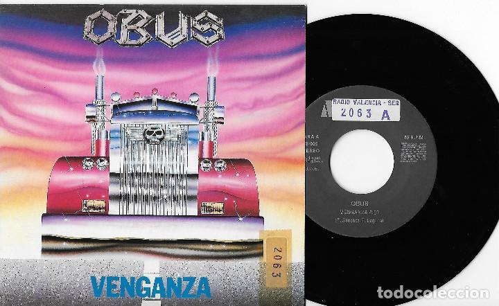 "OBUS 7"" SPAIN 45 VENGANZA+EL DESTINO JUGO SUS CARTAS 1990 SINGLE VINILO HARD ROCK HEAVY METAL AVISPA (Música - Discos - Singles Vinilo - Heavy - Metal)"