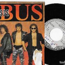 """Discos de vinilo: OBUS 7"""" SPAIN 45 CRISIS + JUICIO FINAL 1987 SINGLE VINILO HARD ROCK HEAVY METAL CHAPA PROMOCIONAL. Lote 253317450"""