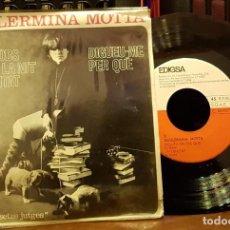 Discos de vinilo: GUILLERMINA MOTTA - ELS SNOBS - LA NIT - L´ETERNITAT - DIGUEU-ME PER QUÉ. Lote 253323775