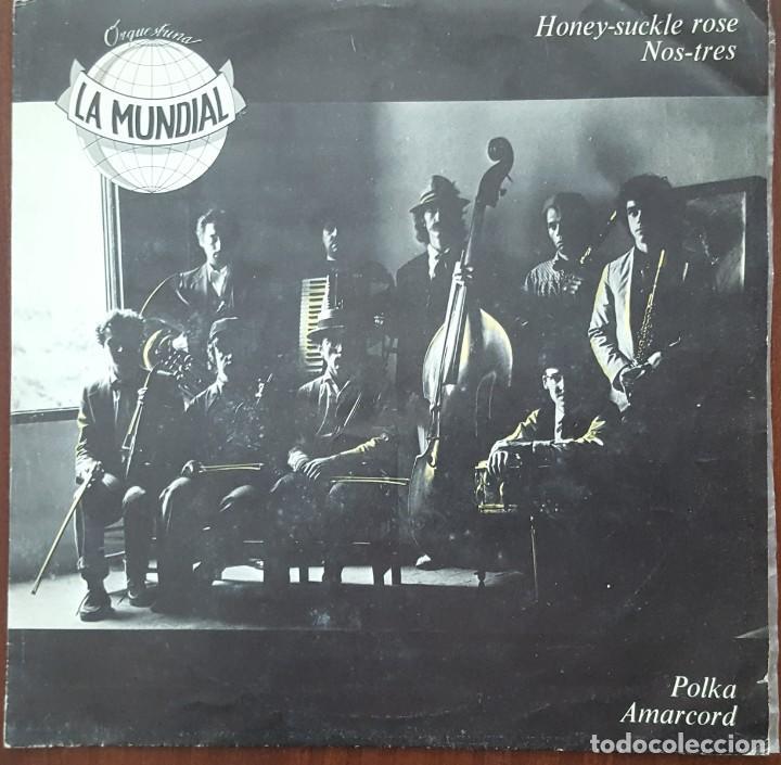 SINGLE / ORQUESTRINA LA MUNDIAL - HONEY-SUCKLE ROSE, 1982 (Música - Discos - Singles Vinilo - Jazz, Jazz-Rock, Blues y R&B)