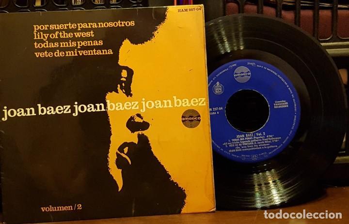 JOAN BAEZ- POR SUERTE PARA NOSOTROS (Música - Discos de Vinilo - EPs - Country y Folk)