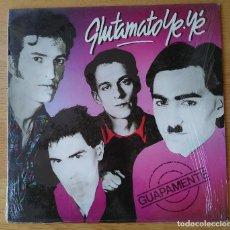 "Discos de vinilo: GLUTAMATO YE-YÉ- ""GUAPAMENTE"" . MINI-LP VINILO - VINYL MINI- LP 1985. Lote 253341870"
