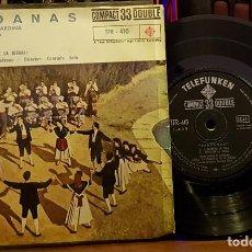 Disques de vinyle: SARDANAS - EL SALTIRO DE LA CARDINA - PRINCIPAL DE LA BISBAL. Lote 253342130