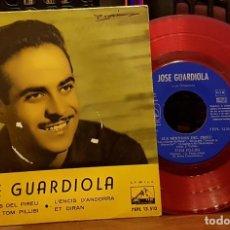 Discos de vinilo: JOSÉ GUARDIOLA - ELS MINYONS DEL PIREU - TOM PILLIBI - L´ENCIS D´ANDORRA - ET DIRAN. Lote 253343170
