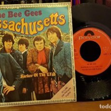 Disques de vinyle: THE BEE GEES - MASSACHUSETTS. Lote 253343515
