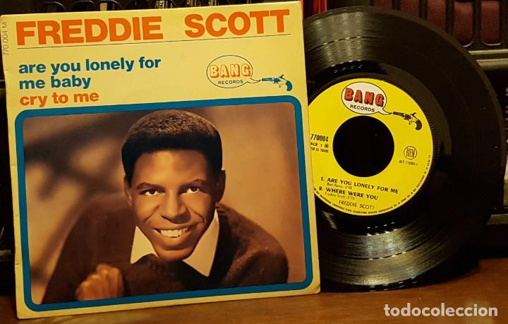 FREDDIE SCOTT - ARE YOU LONELY FOR (Música - Discos de Vinilo - EPs - Funk, Soul y Black Music)